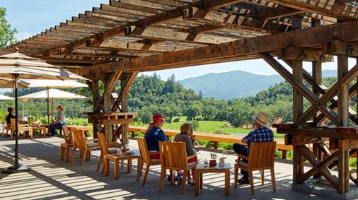 Joseph Phelpd winery, St. Helena, napa valley