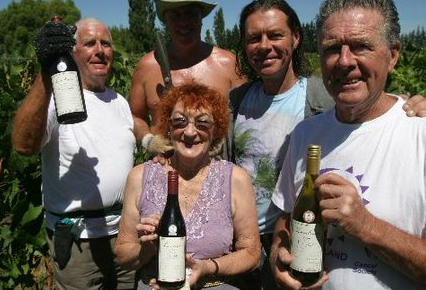 Hagar family, Landsdowne winery, Masterton, NZ