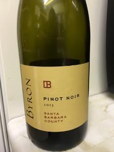 Byron Pinot Noir 2013, Santa Barbara County, USA