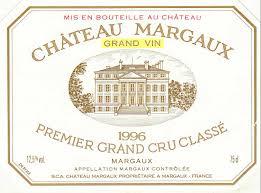 Château Margaux 1er Cru Classé,