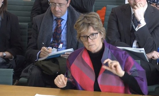 Dame Sally Davies CMO UK Parliamentary Hearing February 2016