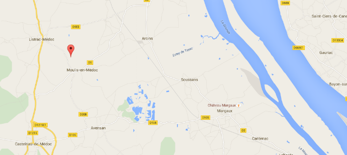 Chateau clarke map