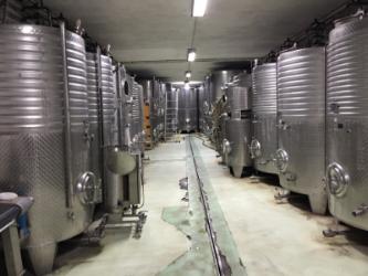 primary fermentation tanks