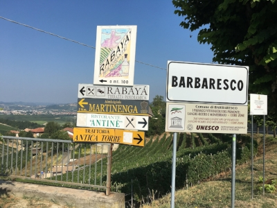Barbaresco entrance