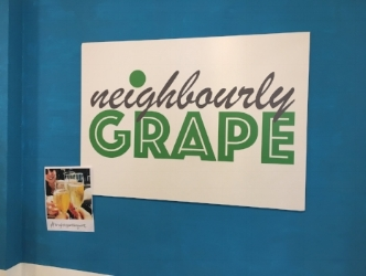 Neighbourly grape logo