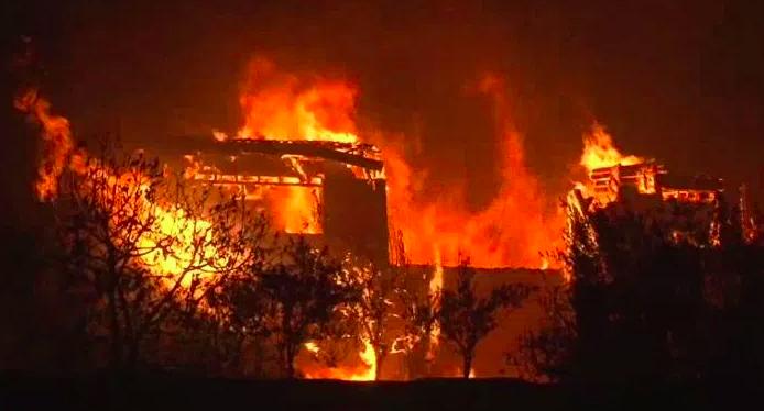 Napa valley fires October 2017