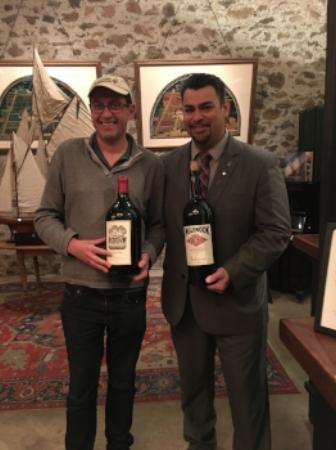 Inglenook winery tasting November 2017