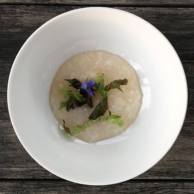 """""""Congee was one of the first dishes I learned to make. It was something my grandma made me whenever I was sick. There's something about this dish that just heals the soul."""" @mattyuencooks #chefmattyuen #littlemeatsla"""