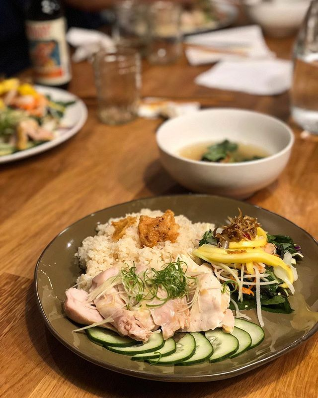 our favorite way to cook, and serve hainan 🐔 & rice? make the rice with the mother broth from our other dinners, and only serve the dark meat! TWO TICKETS IN BIO FOR TONIGHT!! #diepinflavor