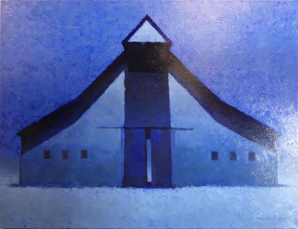 Moonlit Barn (15-24007)