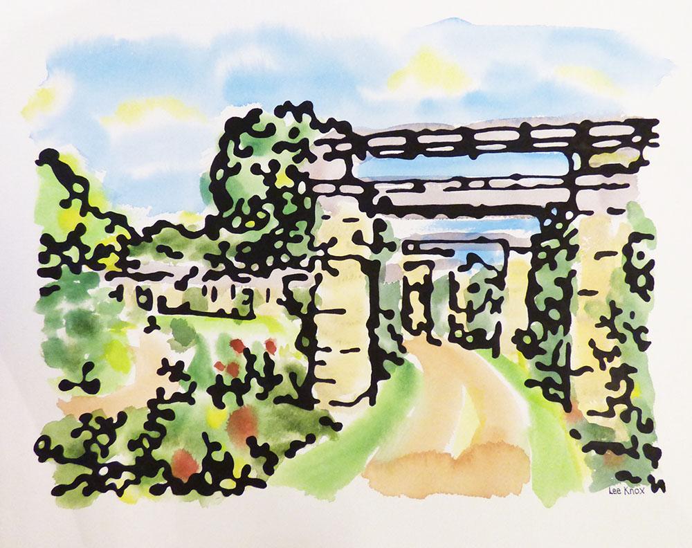 Loose Park Rose Garden (15-24016)