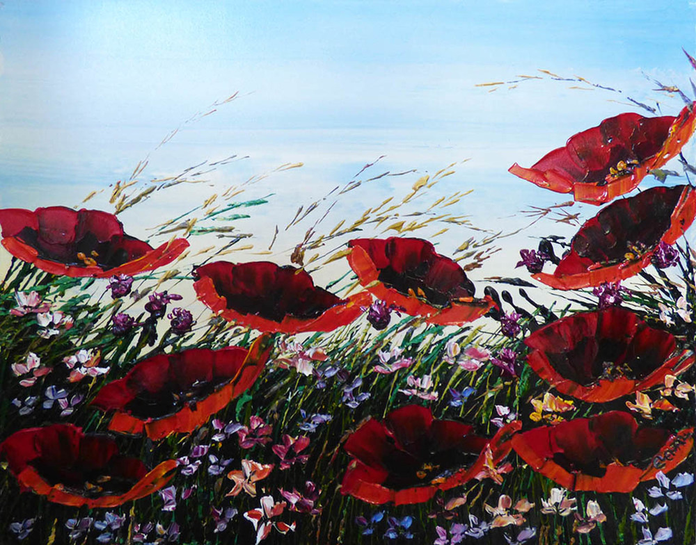 Floral Poppies (PP-15059)