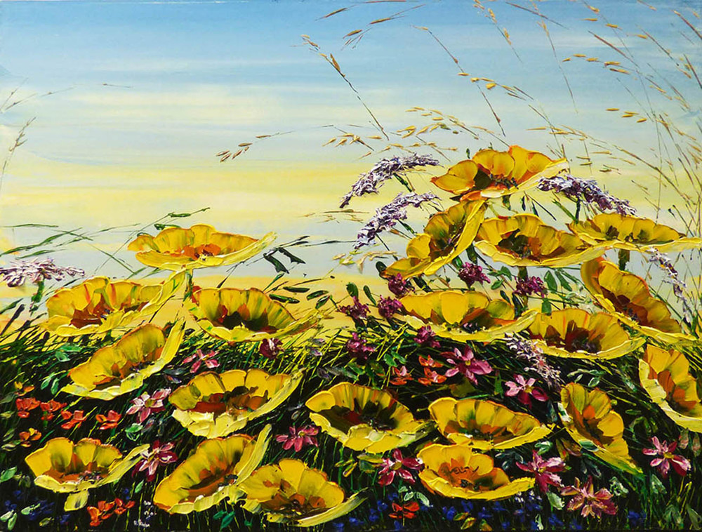 Yellow Poppies (PP-15073)