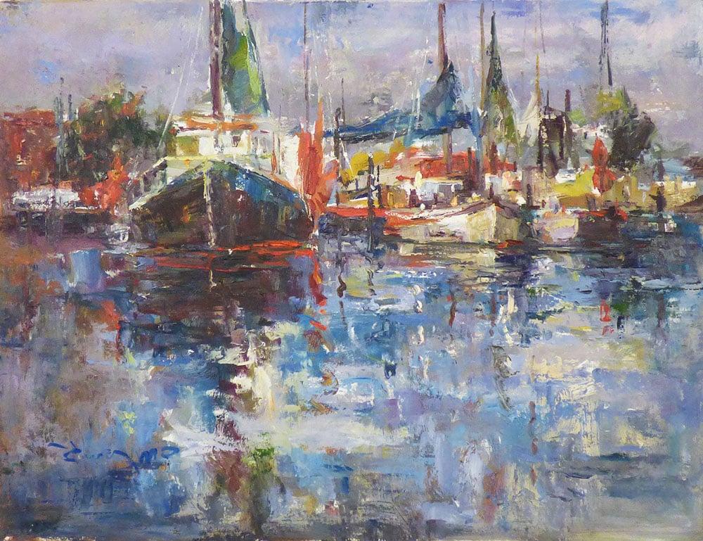Boats (30x40)