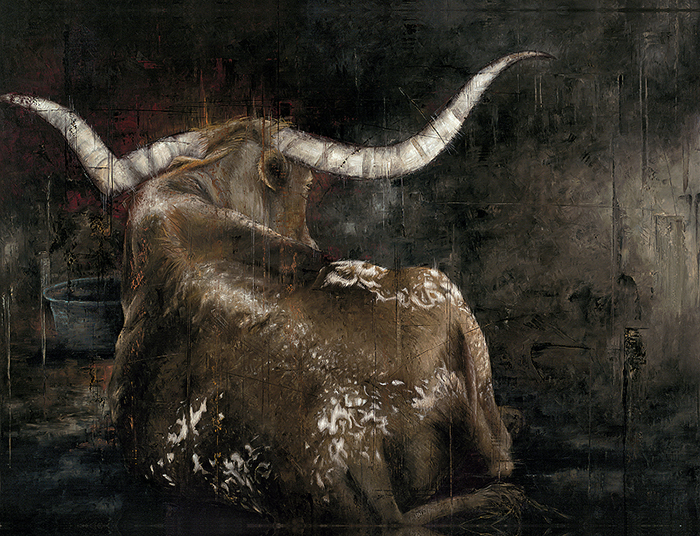 """Longhorn"" by Erica Hopper"
