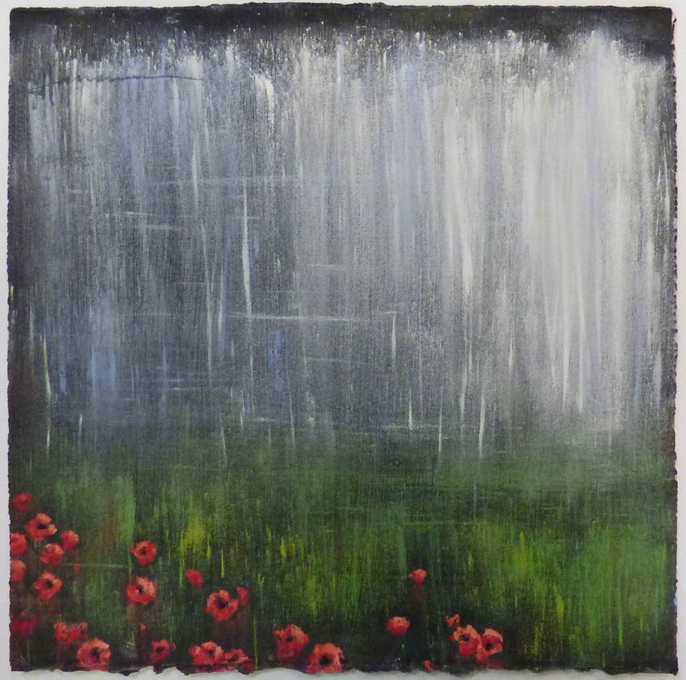 Cascade Over Field Poppies (16-24170)