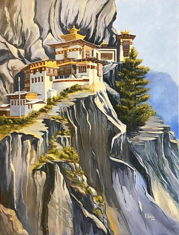 Tiger's Nest Buddhist Monastery (17-24516)