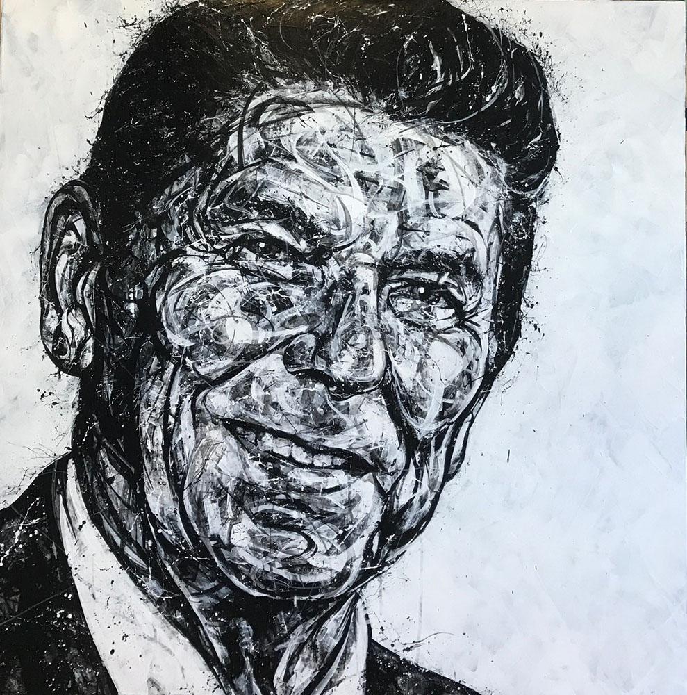 """""""Portrait of Reagan"""" 17-24551"""
