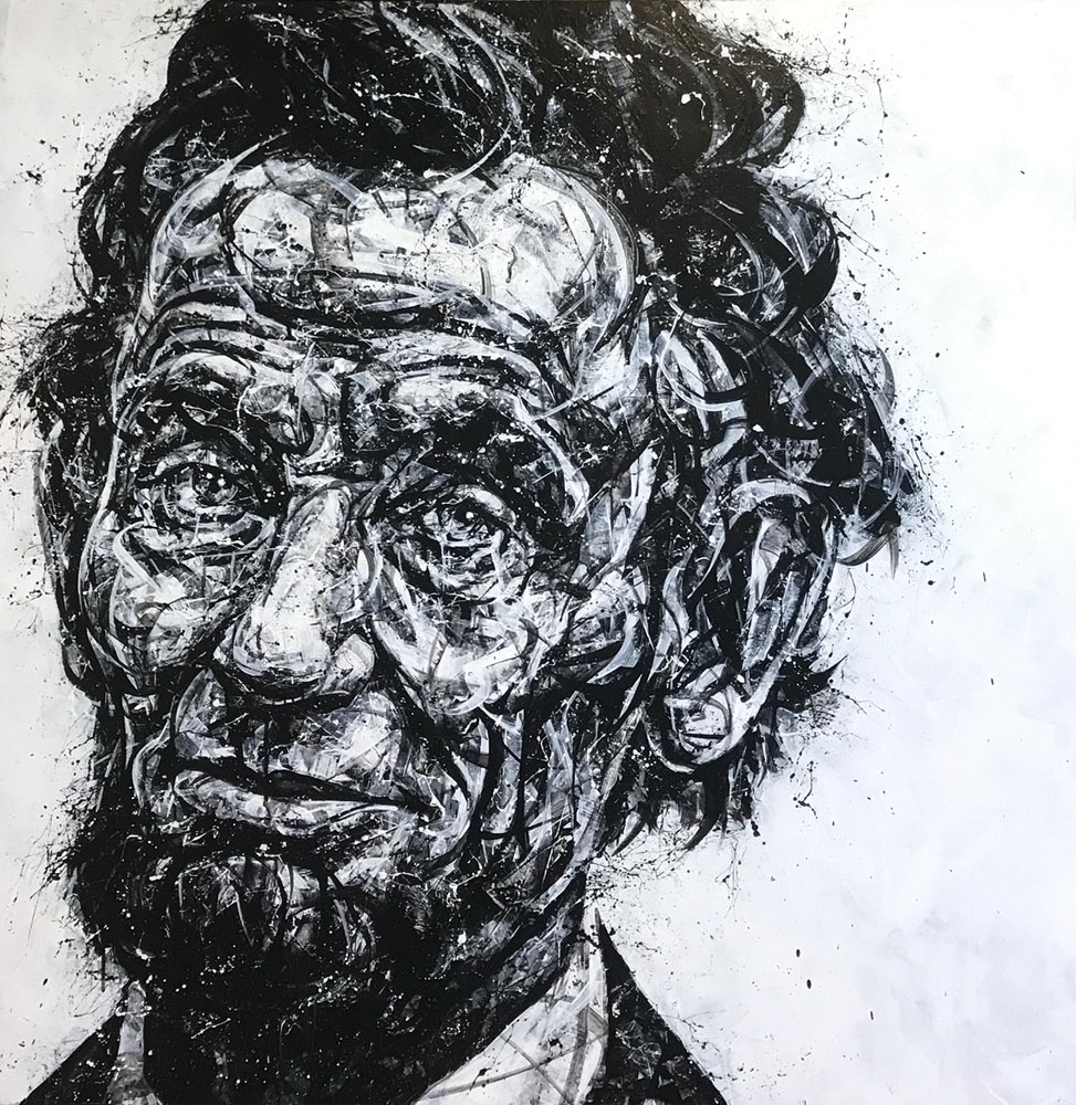 """Portrait of Lincoln"" 17-24552"
