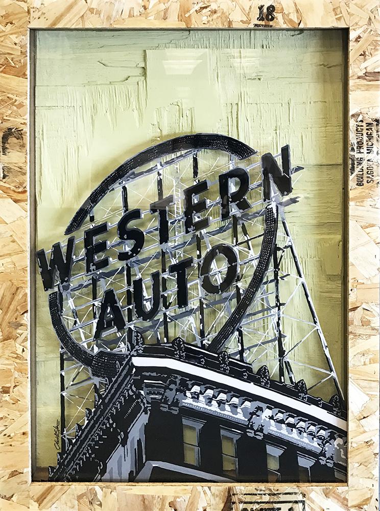 """Western Auto"" (17-24584"