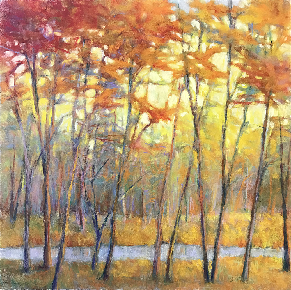 """Yellow at the Creek""  17-24606"