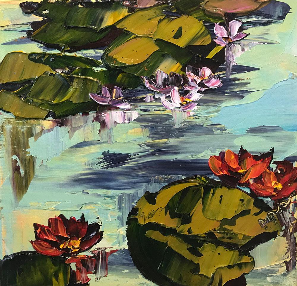 """""""Waterlilies  PP-15183"""