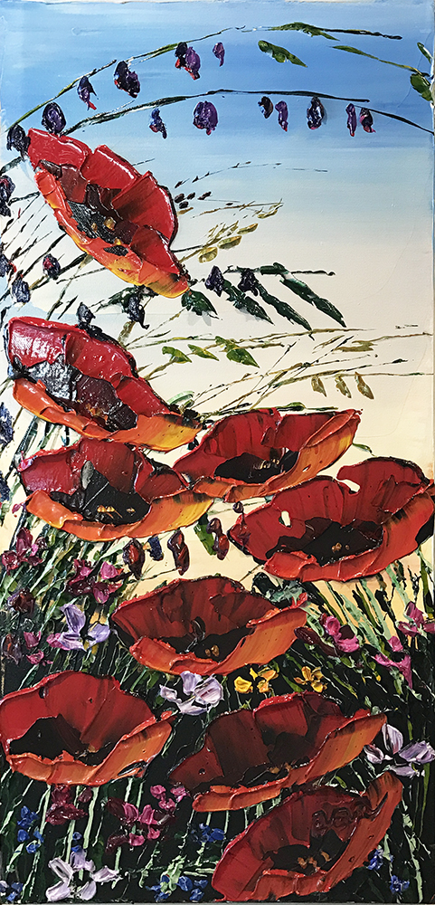 Floral Poppies PP-15215