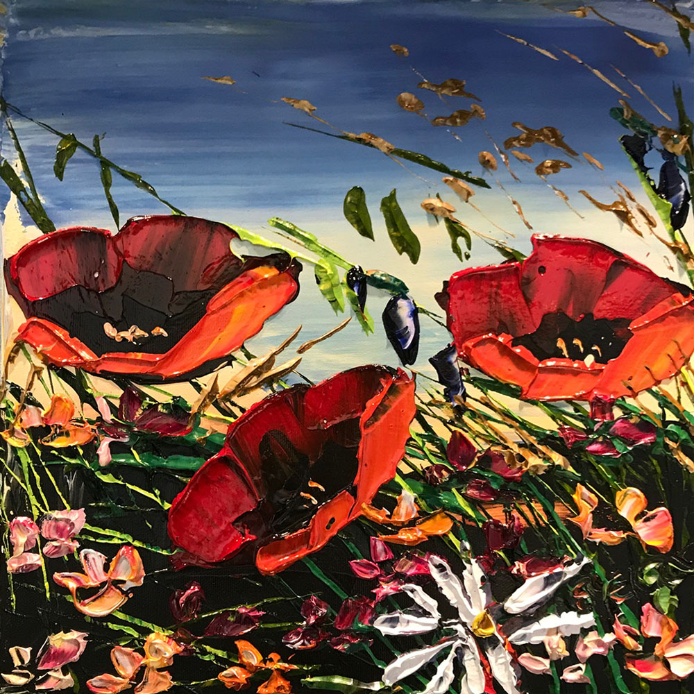 Red Poppies PP-15231