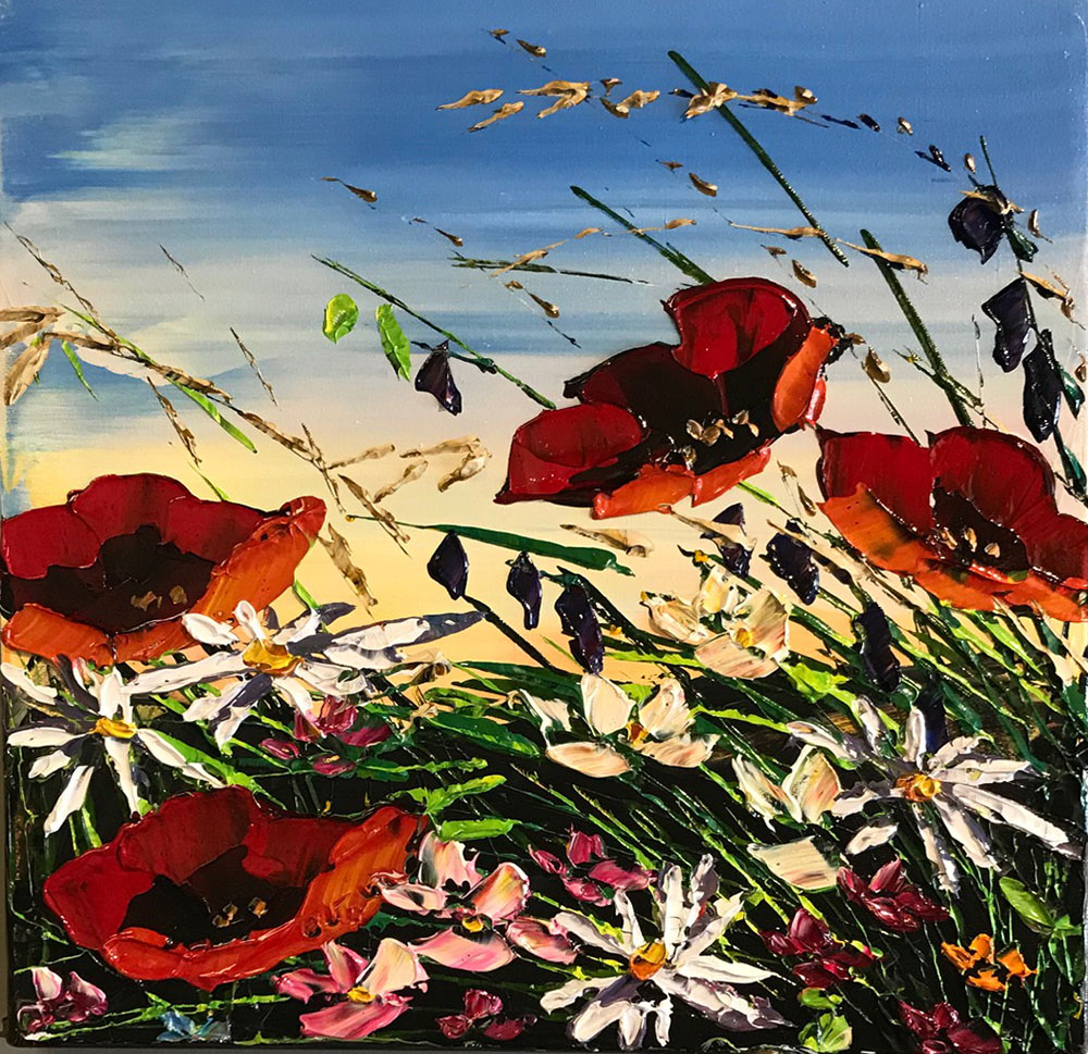 Red Poppies PP-15235