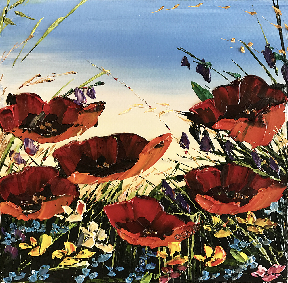Red Poppies PP-15237