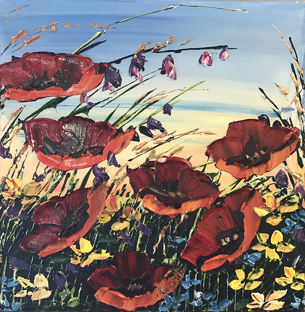 Red Poppies PP-15238