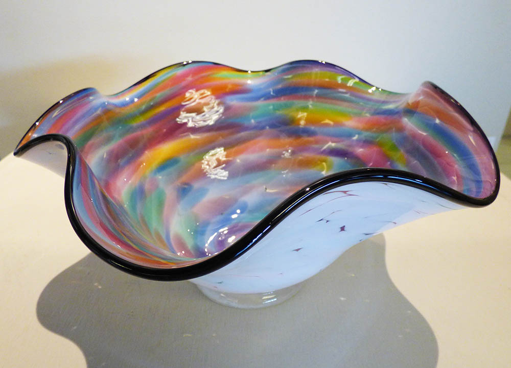 "AlBo Glass ""Scallop"""