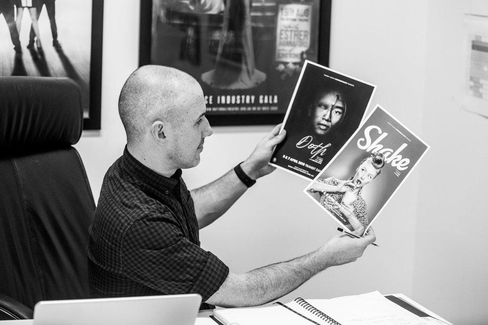 Creative Director  Chris Curran