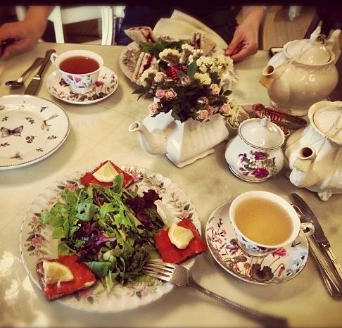 Creative Team Tea Retreat