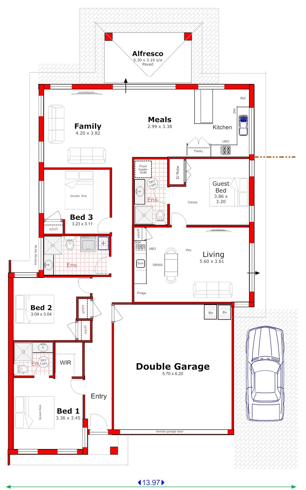 Dual income plus - Home design with attached granny flat ...