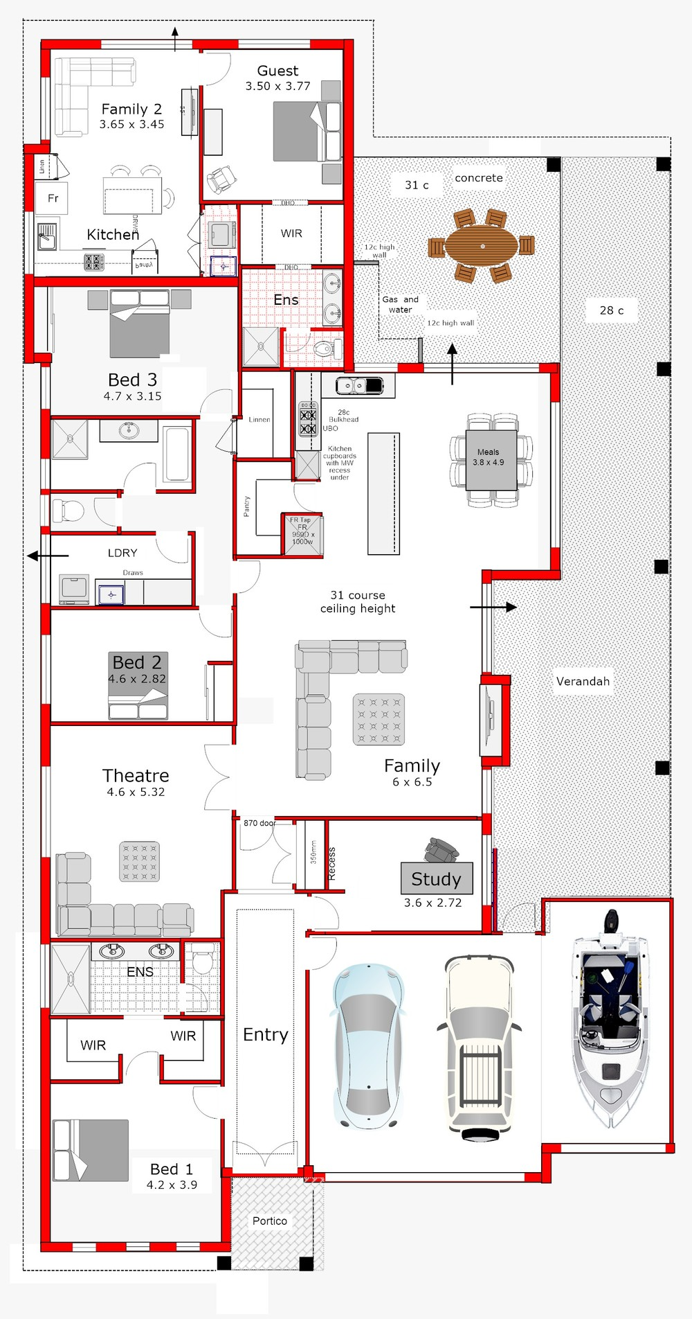 Dual living home designs home design for Dual living home designs