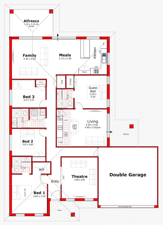 206 Dual Living Home Design Independant Living Perth