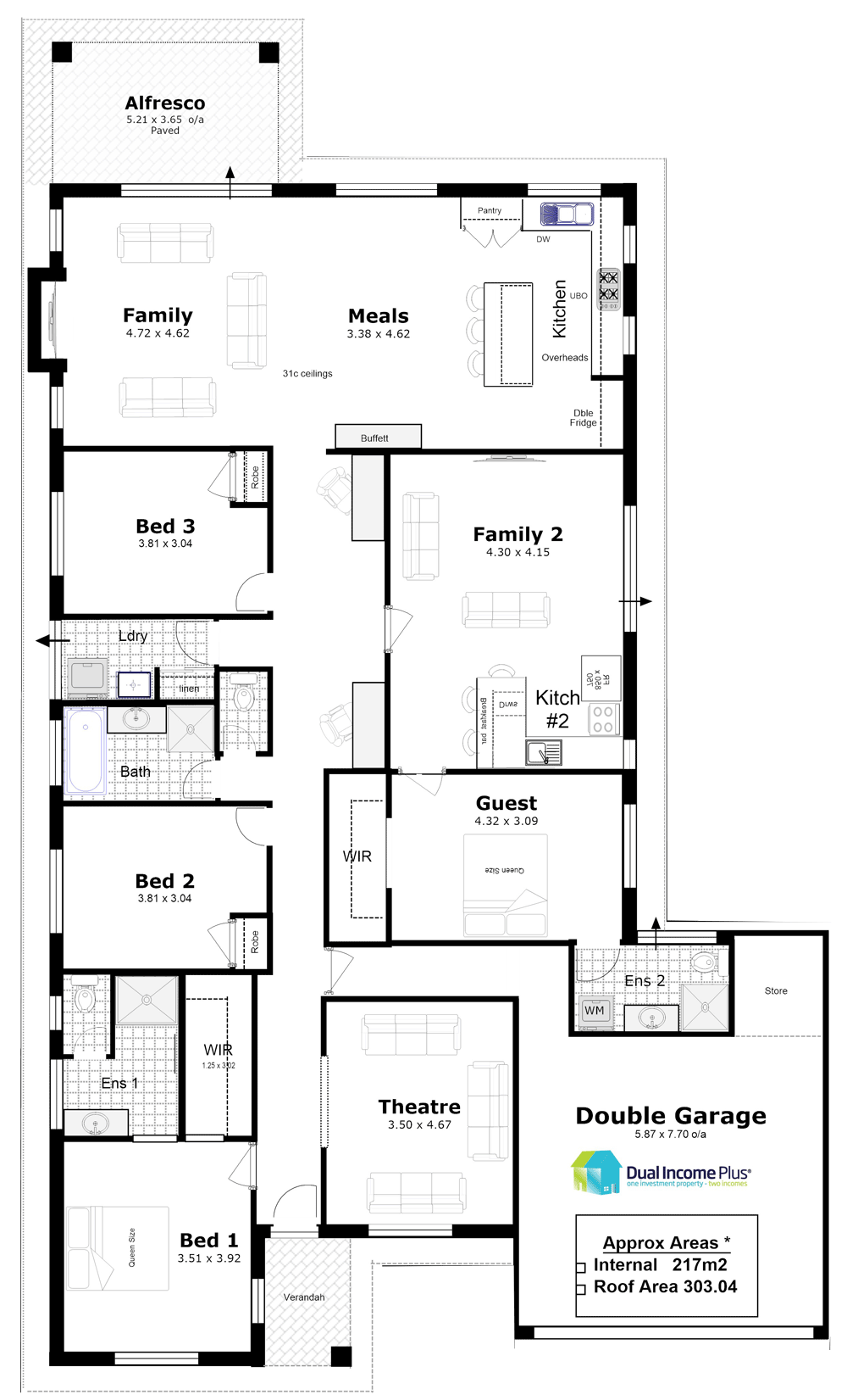 Designs for Multi generational home plans