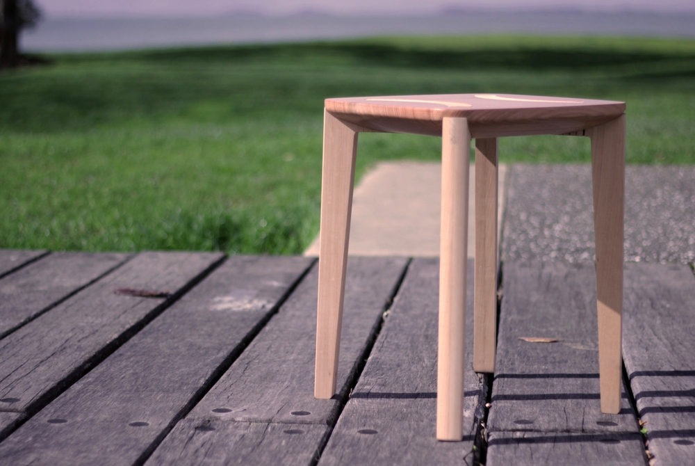 Supreme Award Winner 2014 FLAT PACK STOOL  by William Nicholson