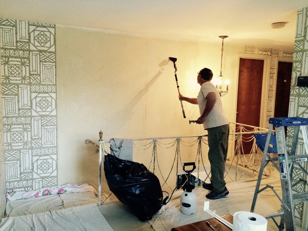 Wallpaper Removal Services In Michigan — Ron Battaglia Painting