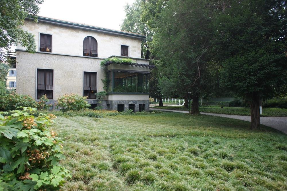 Villa necchi campiglio milaan u2014 witblad