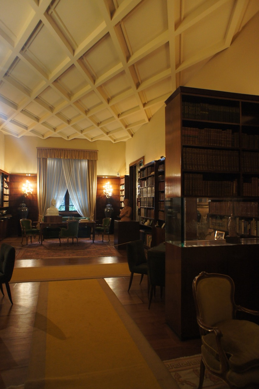 Villa necchi campiglio   milaan — witblad