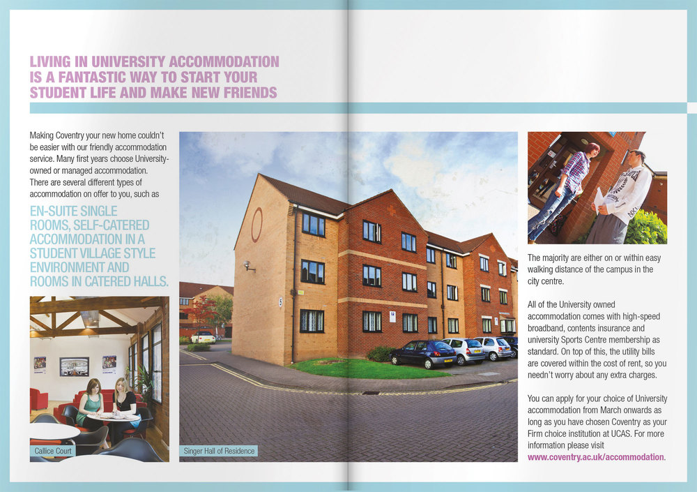 Coventry University Applicant Handbook 2014 Design