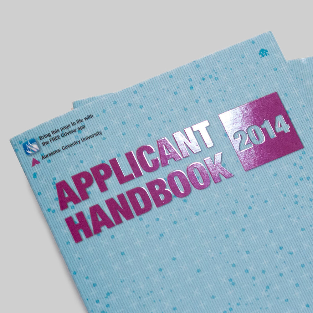 Applicant Handbook booklet design