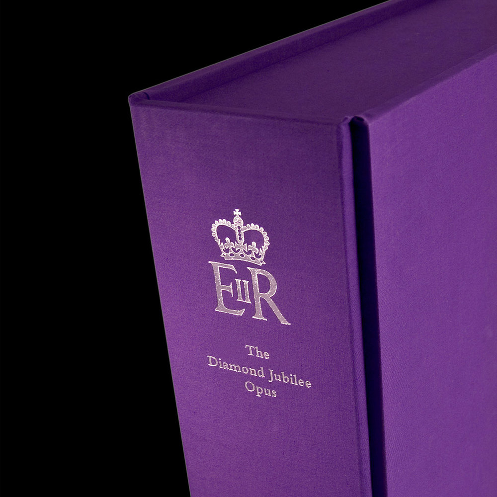 Diamond Jubilee book design