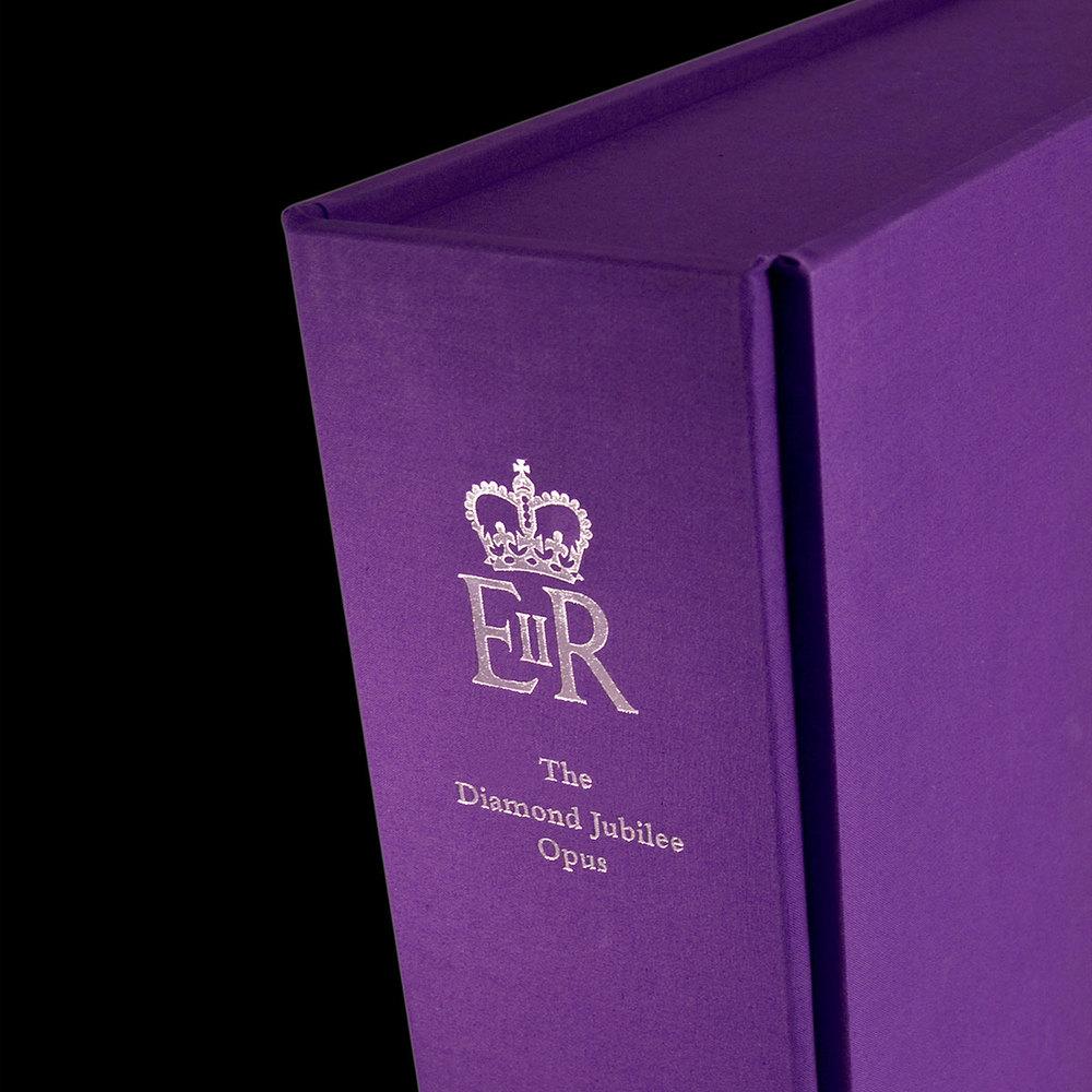 Diamond Jubilee book design