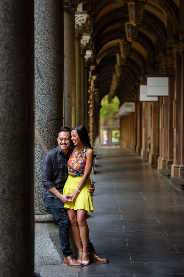 Martin Place Pre-wedding