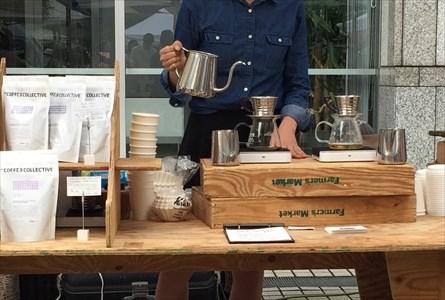 レセプションやイベントなど様々な場所にコーヒーをお届けするケータリング