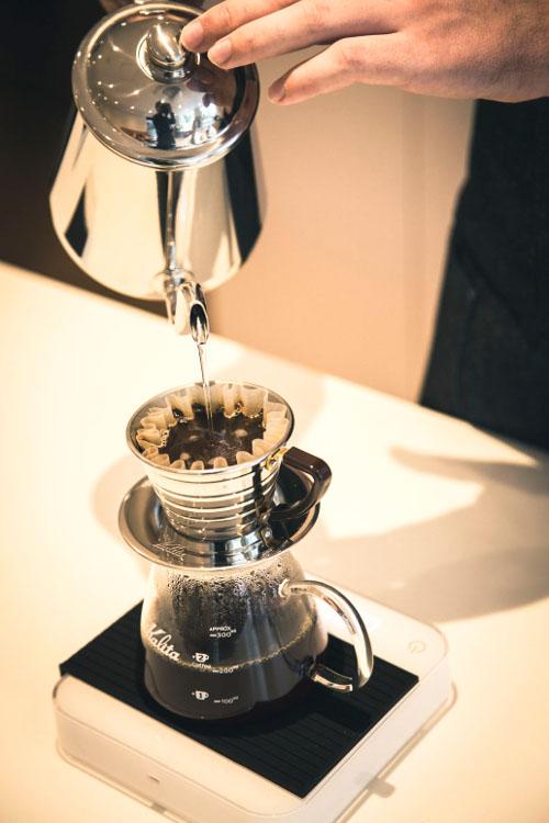 ハンドドリップでコーヒーを淹れる時のポイント