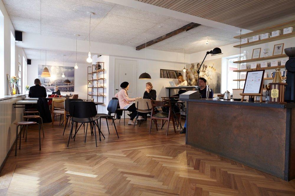 La Cabra Coffee 店内